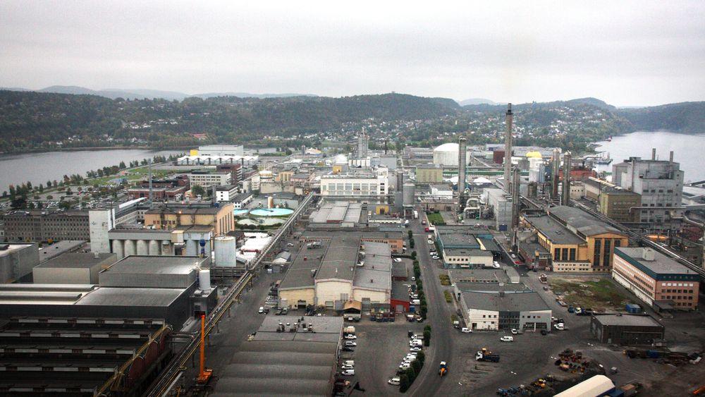 Yara Porsgrunn bruker mye ammoniakk i produksjonen av kunstgjødsel. Nå ser store norske aktører på nye måter å fremstille og bruke ammoniakk på.