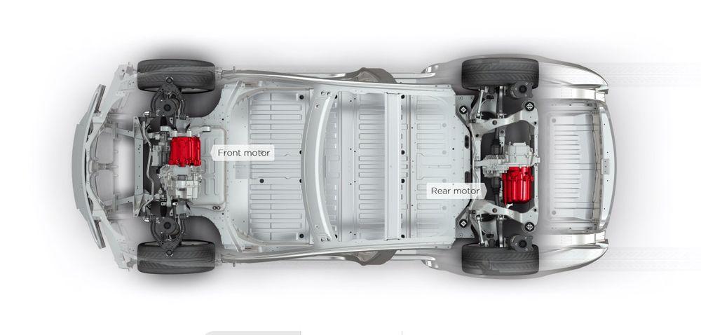 Tesla S P85D: Ikke full så sterk som først lovet.
