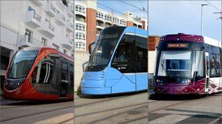 Trikker fra Alstom, Siemens og Bombardier.