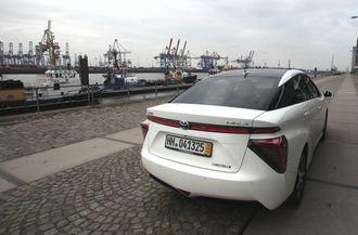 Toyota Mirai er selskapets første serieproduserte hydrogenbil.