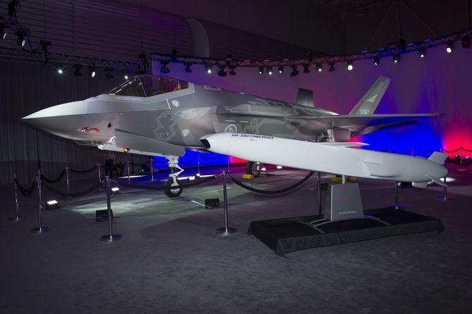 Også JSM fikk litt rampelys da Norges første F-35, AM-1, ble rullet ut fra Lockheed Martin-fabrikken for to år siden.