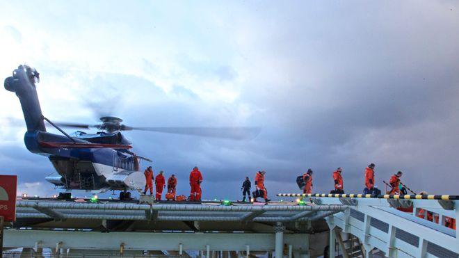 Fagforening frykter for helikoptersikkerheten i Nordsjøen