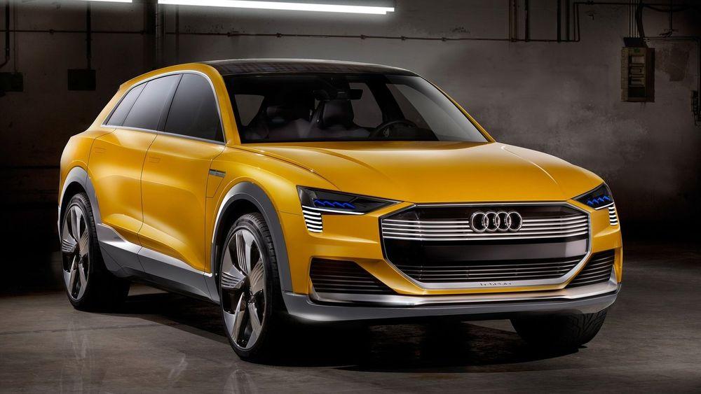 Audis hydrogenkonsept h-tron quattro concept.