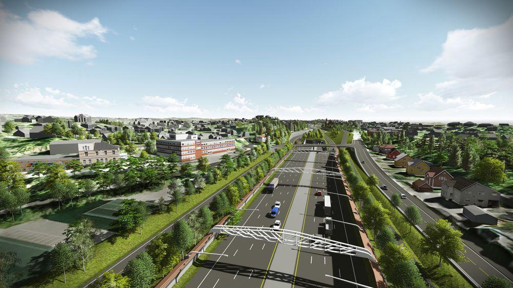 Tre selskaper har kommet med tilbud på arbeidet med planleggingen av ny E18 Vestkorridoren.