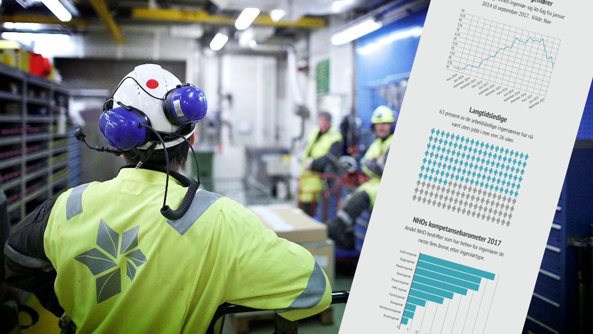 Nito mener det nå går mot en normalisering av arbeidsmarkedet for ingeniører. Fra våren 2018 mener de ledigheten for gruppen skal for alvor gå nedover. Årsaken er blant annet nye næringer som gir økt behov for ingeniørkompetanse og en generell oppgang i norsk næringsliv.