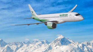 I april neste år flyr det nye jetflyet de første Widerøe-rutene