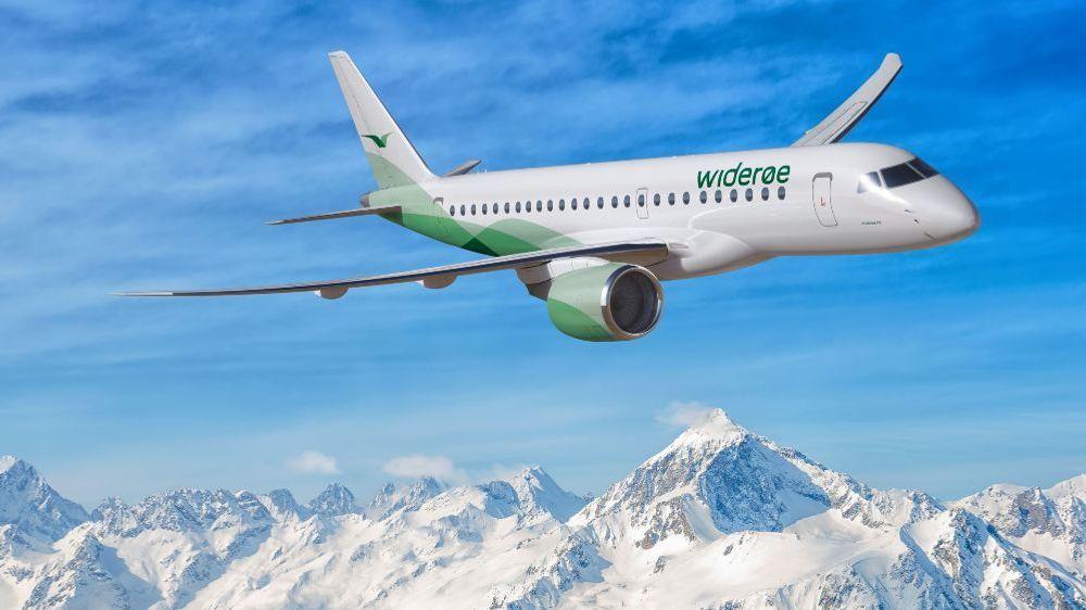 Til våren får Widerøe et nytt fly i samlingen. Jetflytypen Embra E-190-E2 skal bringe passasjerer fra og til Vestlandet og Nord-Norge.