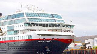 Lager trygg havn for Hurtigruten