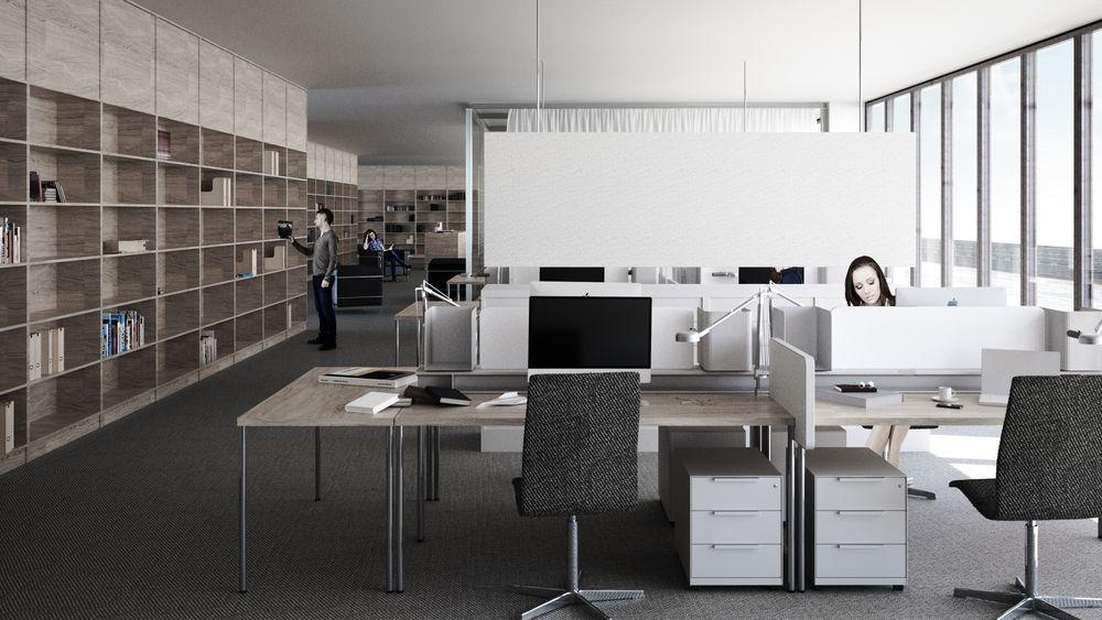 «Free seating» og «clean desk» er hete kontortrender. Det nye nasjonalmuseet er én av mange statlige arbeidsplasser som nå hiver seg med på trenden.