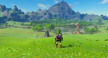 Slik ser den emulerte versjonen av The Legend of Zelda: Breath of the Wild ut nå