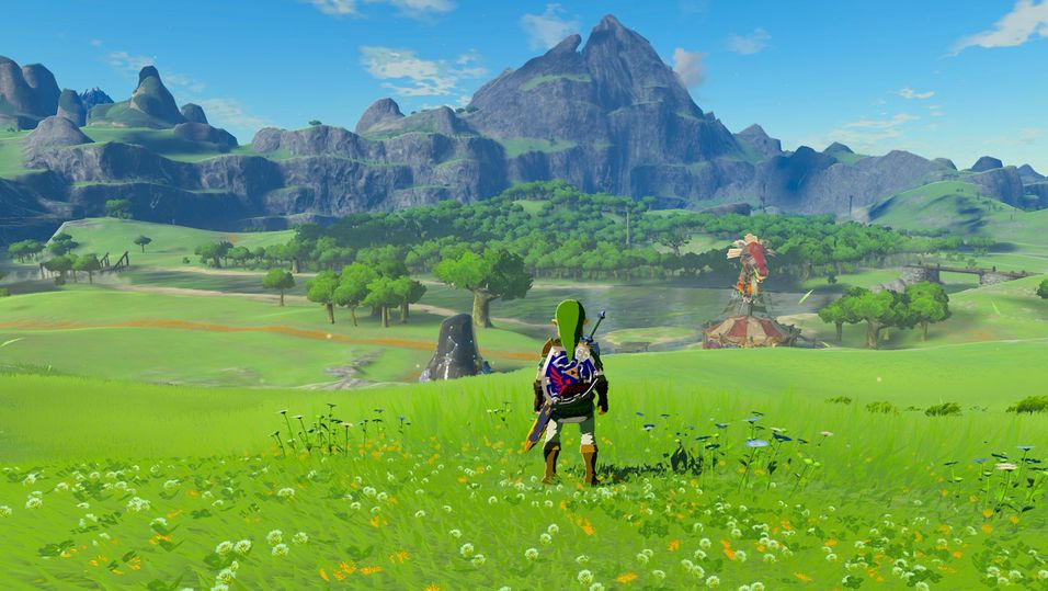 Slik ser den emulerte versjonen av The Legend of Zelda: Breath of the Wild ut nå