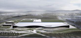 Volvo-søster Polestars kommende fabrikk i Chengdu er tegnet av Snøhetta.