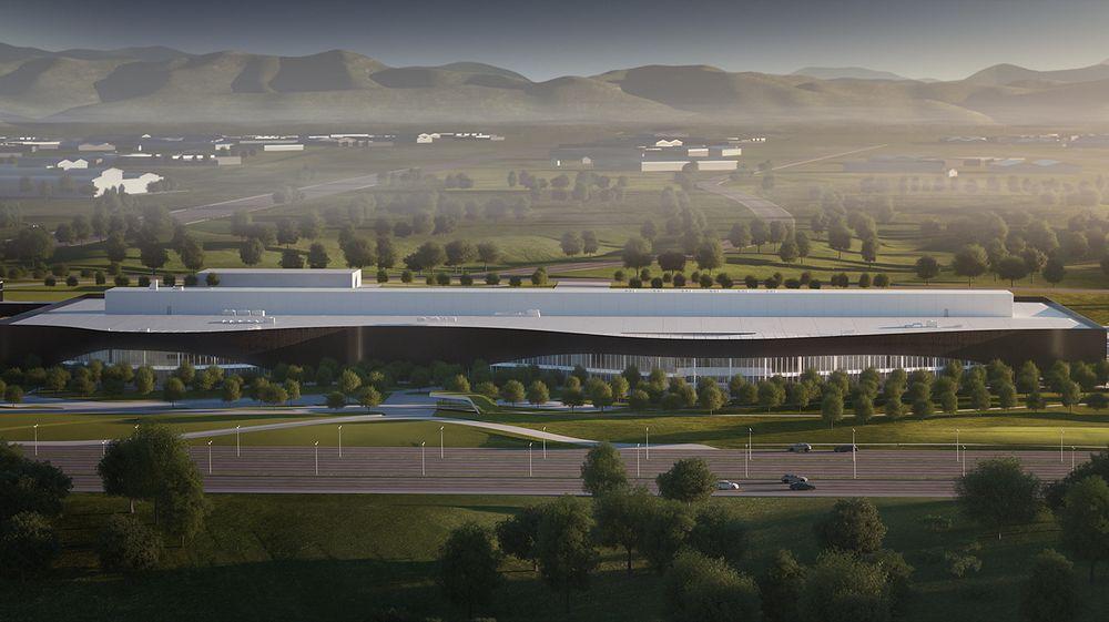 Volvo Car Groups kommende Polestar-fabrikk i Kina.
