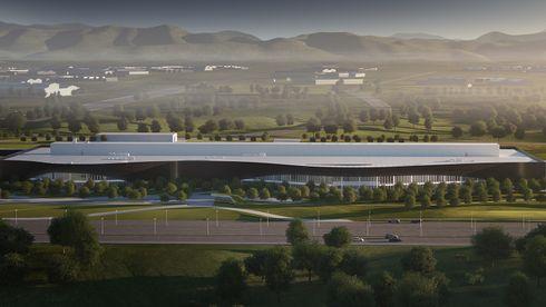 Volvos kinesiske elbilbilfabrikk skal bli en av verdens mest miljøvennlige