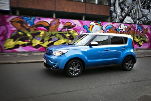 Kia Soul Electric.