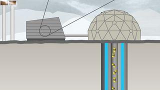Geotermisk kraftverk på Island med negative CO2-utslipp: Omdanner CO2 til kalkstein