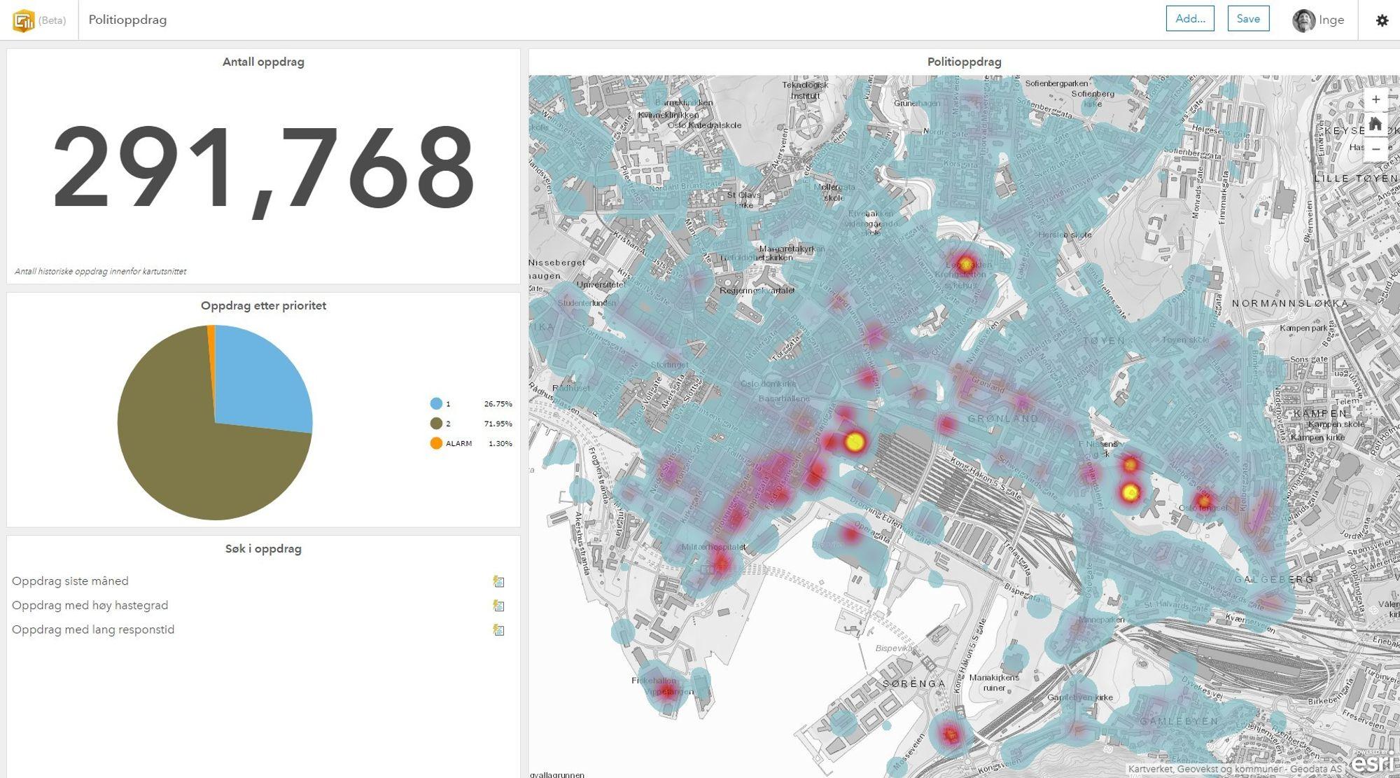 akersgata 16 kart Politiets operasjonssentraler får nytt kartverktøy: – Overmodent  akersgata 16 kart
