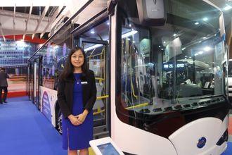 BYDs europeiske markedssjef, Penny Peng.