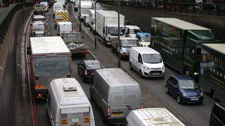 London klemmer til mot dieselbilene