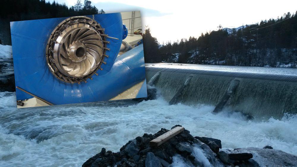 Dynavec designet løpehjulet (innfelt) i én av de to francisturbinene i Fjelva kraftverk. I forbindelse med oppdraget ble det gjort en regnefeil, som nå koster selskapet over to millioner kroner.