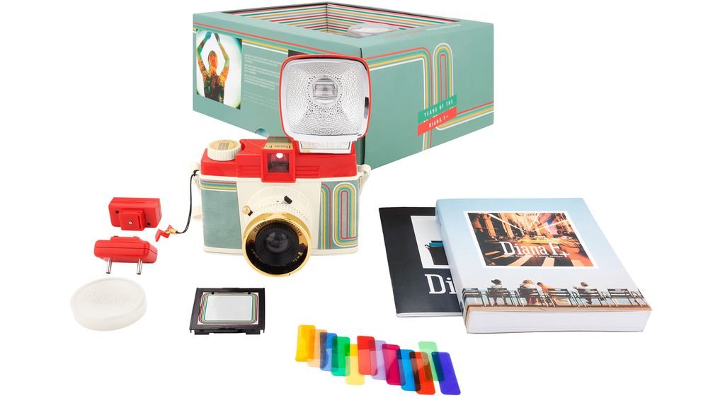Lomography Diana F+ 10 Years Edition