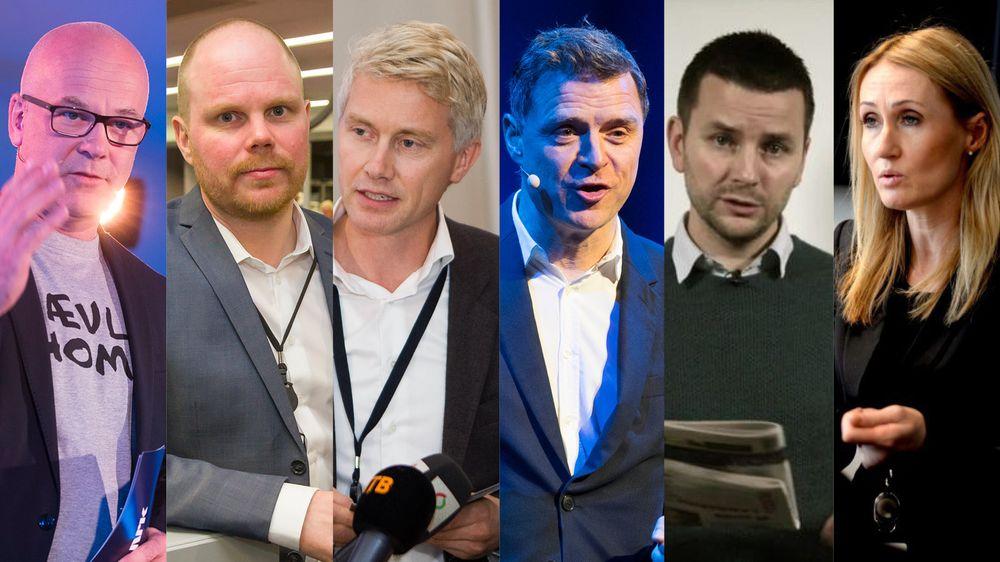 5ab8c463 Mediehusene disse seks leder har alle ferske tilfeller av seksuell  trakassering eller annen uønsket oppmerksomhet.