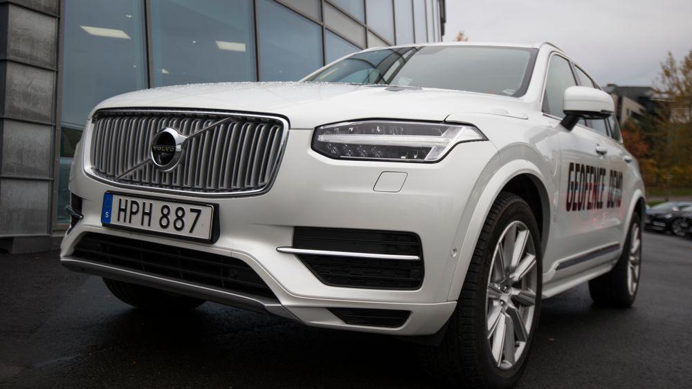 Alle 2017-modeller av Volvo XC90 kan følge kommandoer fra ITS-systemet NordicWay Interchange. I dette tilfellet styrer kommandoene hvorvidt bilen skal komme seg frem ved hjelp av el-motoren eller bensinmotoren.