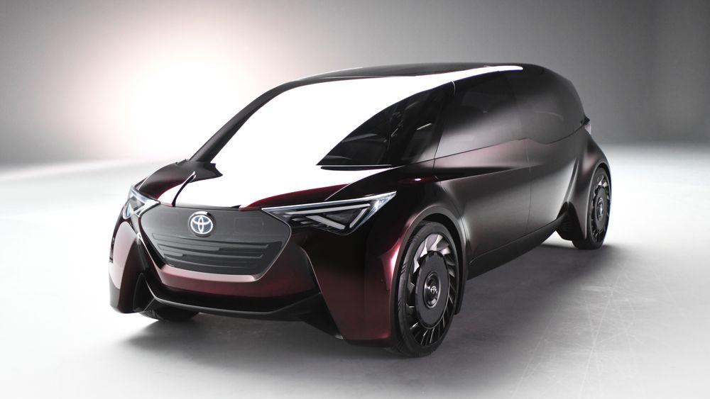 Toyotas hydrogenkonsept Fine-Comfort Ride.