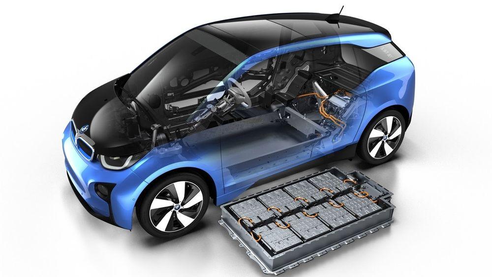 Brukte BMW-batterier får nytt liv.