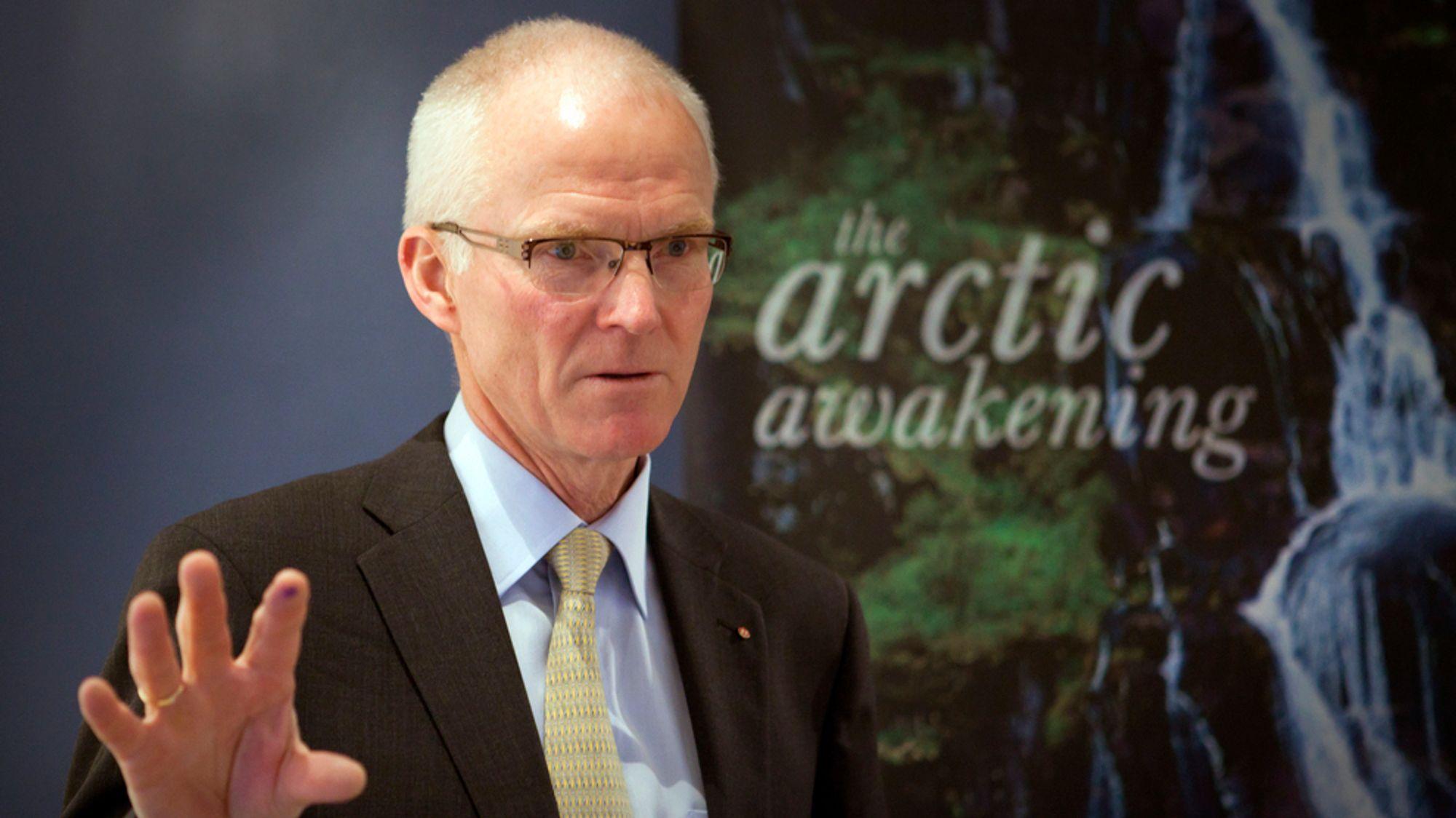 Tidligere Statoil-sjef Olav Fjell.