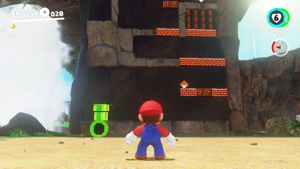 Spillet blander også to og tre dimensjoner fra tid til annen, et grep som er som snytt ut av nesa på A Link Between Worlds.