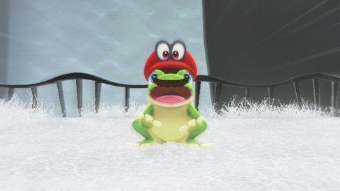 Kjærlighet ved første frosk.