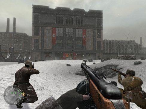 Call of Duty 2 var fantastisk i 2005, selv om det ser fryktelig enkelt ut i 2017.