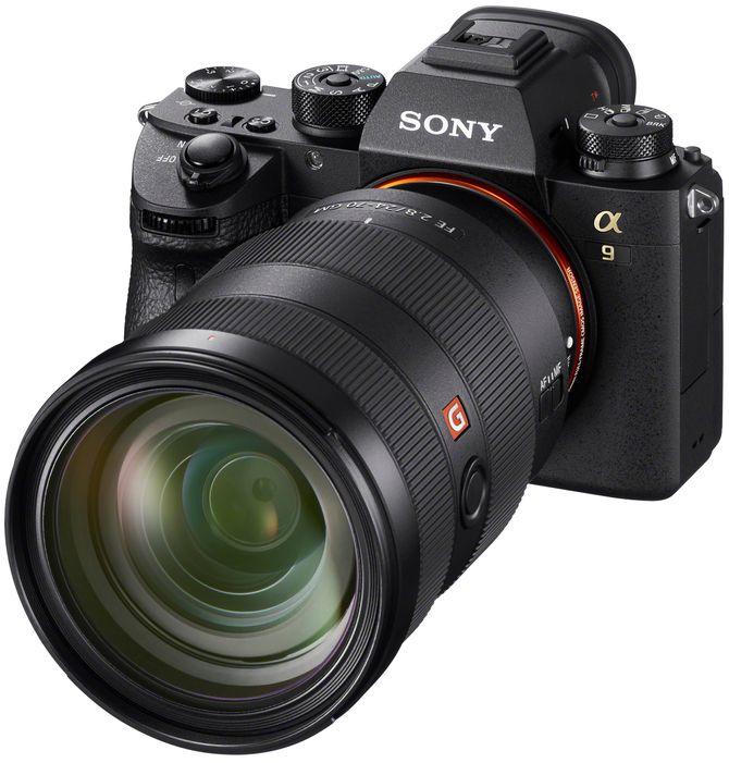 Sony A9 er kåret til «Årets fotoprodukt 2017/2018». Foto: Sony.