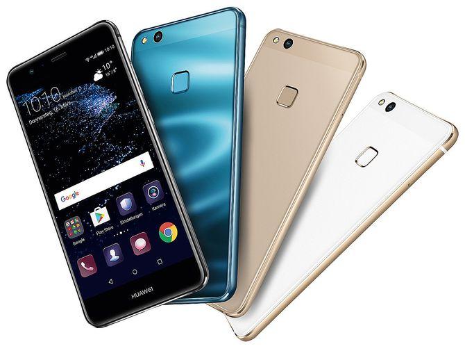 Huawei P10 Lite er kåret til «Årets budsjettmobil 2017/2018». Foto: Huawei.