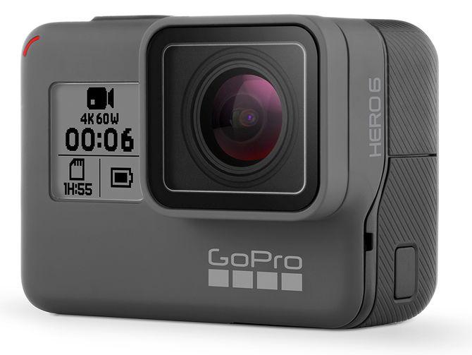 GoPro HERO6 Black er kåret til «Årets videoprodukt 2017/2018». Foto: GoPro.