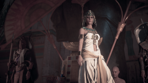 Ikke spøk med Cleopatra.