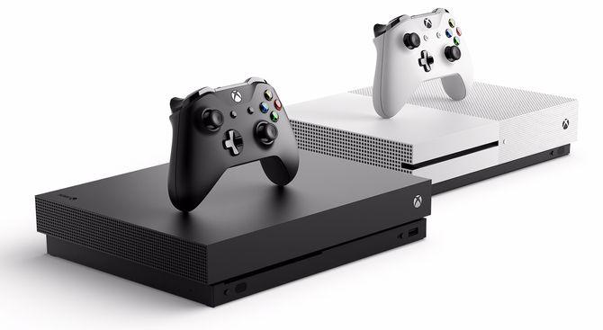 Finalist: Microsoft Xbox One X. Foto: Microsoft.