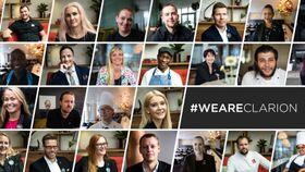 FØLG MED: WeAreClarion er en kampanje som viser frem noen av hotell-Norges beste medarbeidere. Sjekk den ut på Facebook eller YouTube.