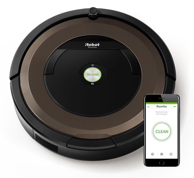 Finalist: iRobot Roomba 800 Connected. Foto: iRobot.