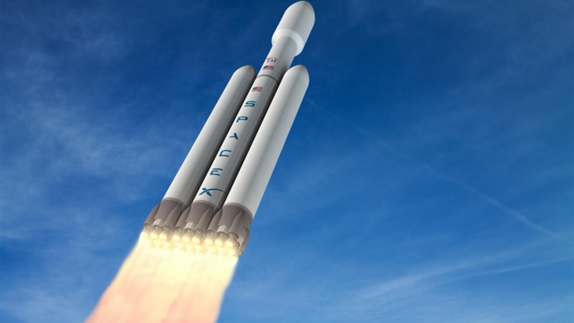 Etter årevis med forsinkelser skal SpaceX' Falcon Heavy-rakett etter sigende blir skutt opp i november.