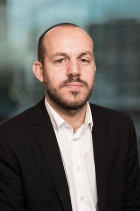 Kommunikasjonsdirektør Peter Markovski i NHO.