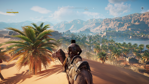 Rikeleg med tekniske problem for Assassin's Creed Origins