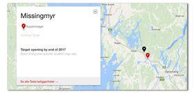 Den nye stasjonen har dukket opp på Teslas offisielle kart, men nøyaktig åpningsdato er ikke spesifisert.