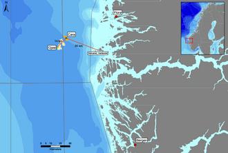Cara-feltet ligger i Nordsjøen, like ved Engies Gjøa-felt.