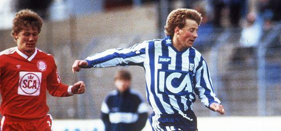 STJERNE: Kolbotn-gutten vant europacupen med svenske IFK Göteborg.