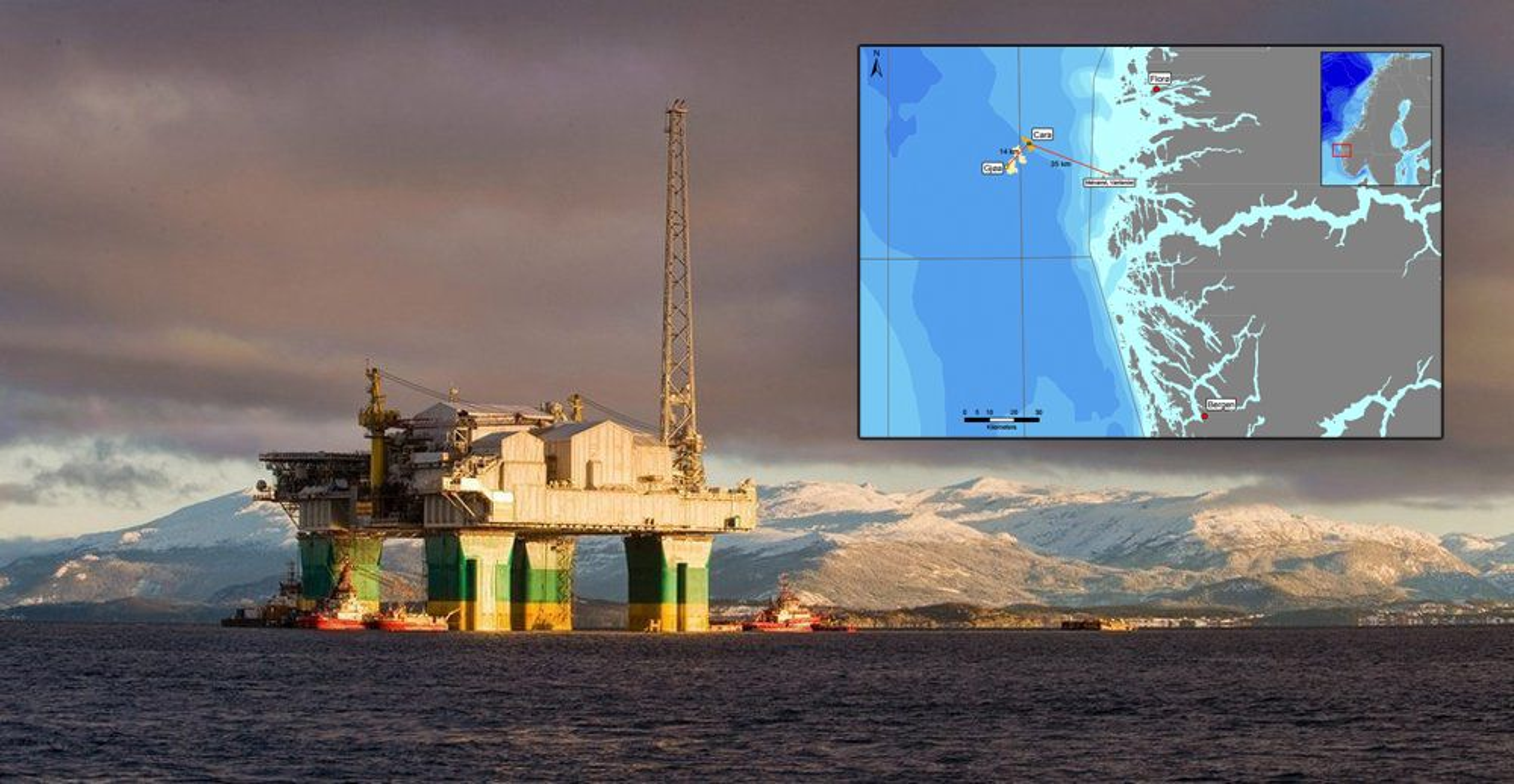 Gjøa-plattformen er planlagt som tilknytningspunkt for Engies nye feltutvikling, Cara, som ligger rundt 14 kilometer unna.