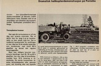 Faksimile fra Teknisk Ukeblad 20. november 1969.