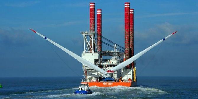 Her blir turbinen fraktet ut til til Alstom Halide demonstrasjonsfeltet. Foto: Fred. Olsen Ocean.