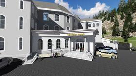 NYTT LIV: Kan Harastølen få nytt liv som hotell? Det trur investorane bak desse planane.